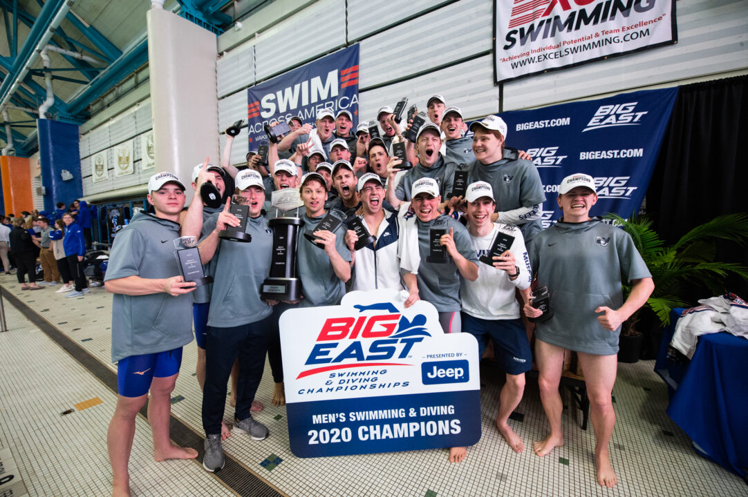 2021 Big East Day 2: Xavier Men Lead Villanova By 11 Points With 3 Event Wins
