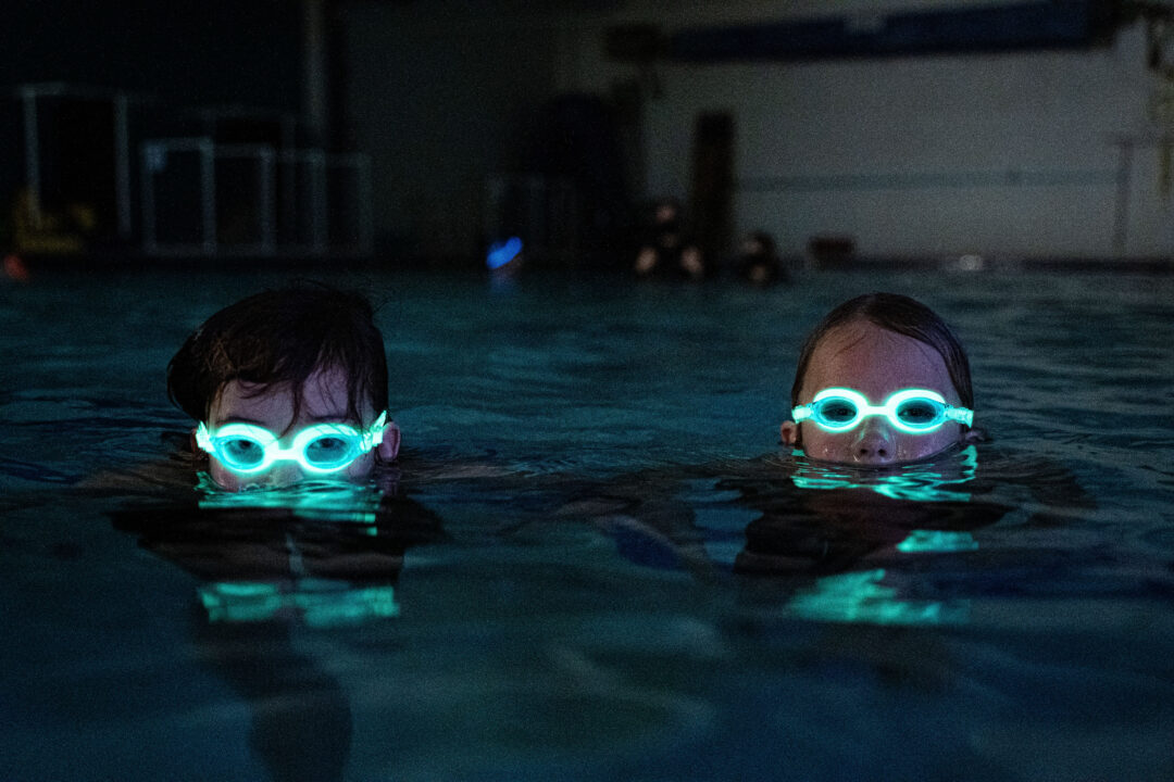 Light up the Night with FlowGlow Kids' Goggles from FINIS