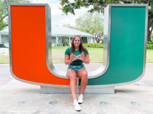NCAA Qualifier Danika Huizinga Transferring to Miami (FL) for Master's Program