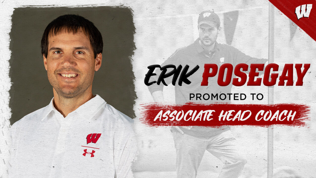 Erik Posegay Promoted to Associate Head Coach at Wisconsin