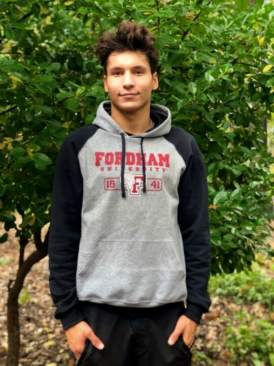 Fordham Adds Breaststroker Kevin Zahariev to Class of 2025