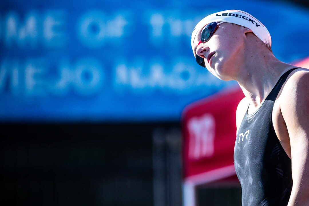 """Katie Ledecky on 200 Free US Open Record: """"I like to be 1:54 in-season"""""""