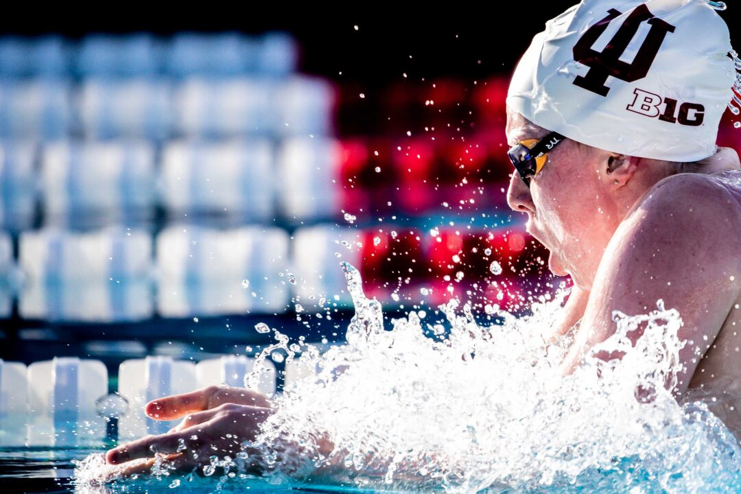 """Lilly King on 200 Breast: """"2:22's kind of becoming the new norm"""""""