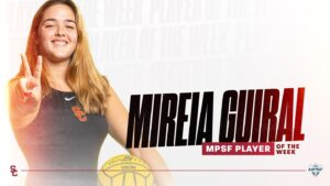 USC's Mireia Guiral Named MPSF Women's Water Polo Player of the Week
