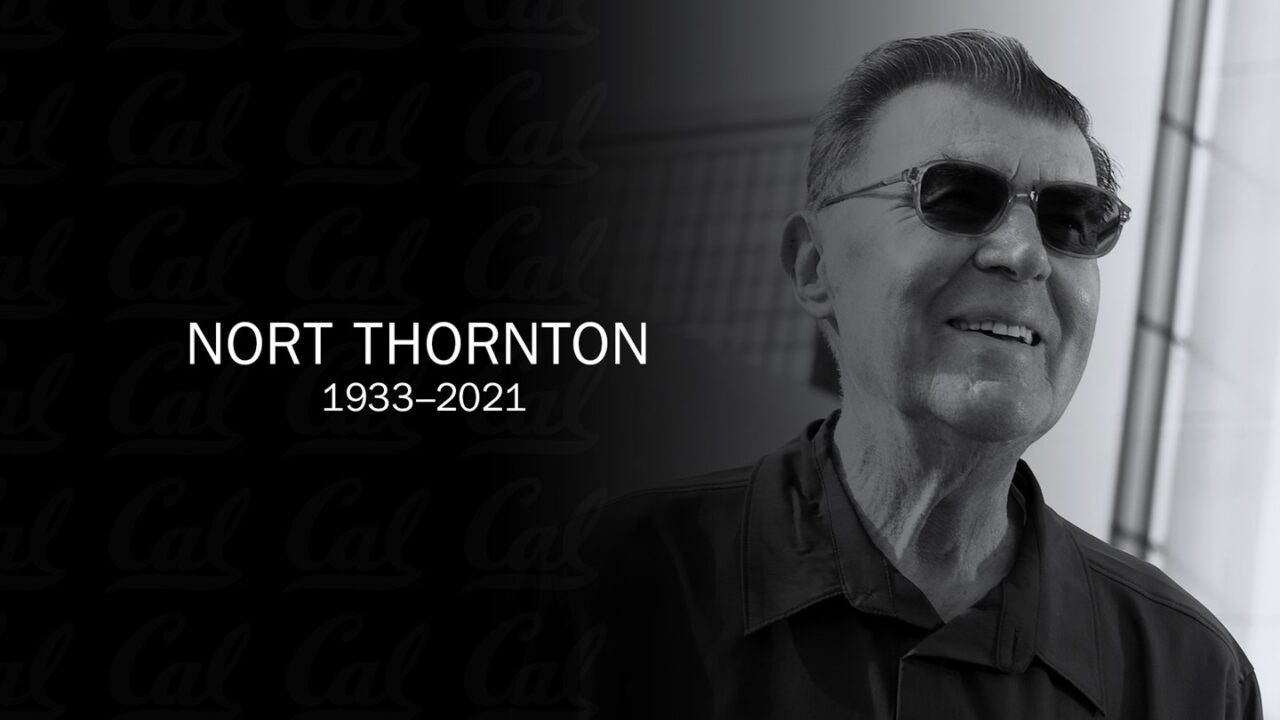 Former Cal Head Coach Nort Thornton Dies At 87