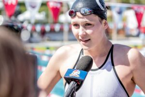 "Olivia Smoliga on 200 Free: ""I wanna have that under my belt"""