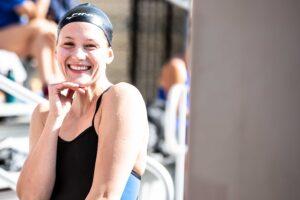 Olivia Smoliga Talks Back-Half Focused 58.3 100m Back