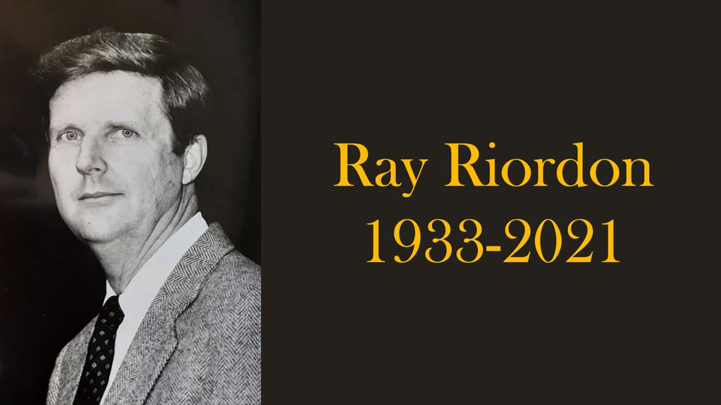 Ray Riordon, Who Founded Towson University's Swim Team, Dies at 87