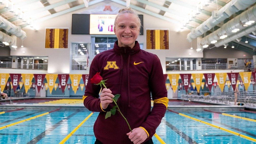 Minnesota's Sarah Bacon Becomes First Diver to Win Honda Sports Award