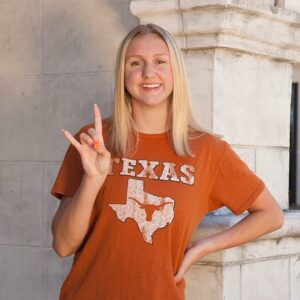 Texas Longhorns Pick Up 23.1/49.9 Sprinter Sienna Schellenger (2022)