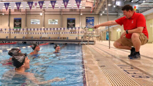 SPIRE Director of Aquatics Thad Schultz Helps Athletes Swim for Success