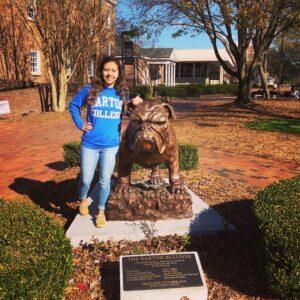 Cristal Perdomo Commits to 2021 Conference Carolinas Champion Barton College