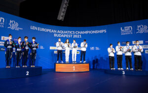 Russia Claims First Medal of European Championships in Mixed Team Diving