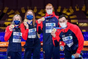 Glasgow Meet: Stephens Tempo Limite, 200 Stile Libero In 4 Sub 1:47