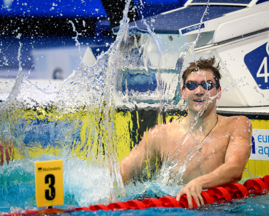 Watch Kliment Kolesnikov Break The 50 Backstroke World Record (Twice)