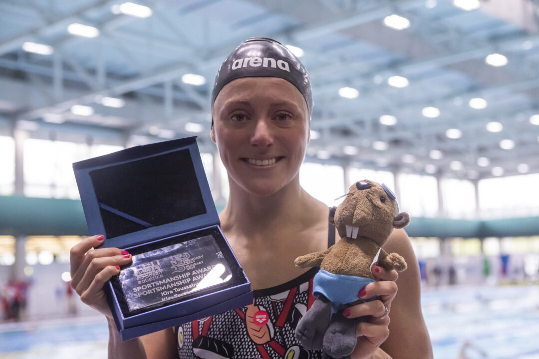 Niederländerin Kira Toussaint erhält Sportmanship Award