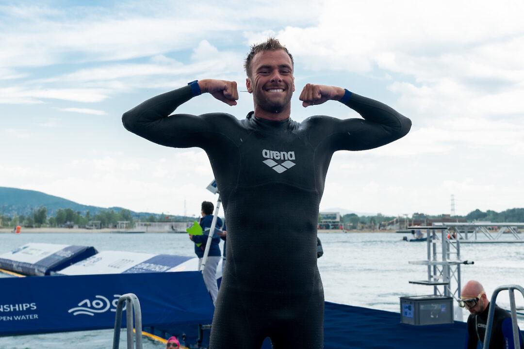 Van Rouwendaal y Paltrinieri triunfan en aguas abiertas; Paula Ruiz 4ª