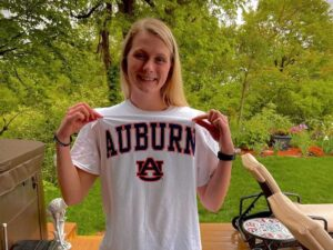 5x AAC Champ and 2021 All-American Mykenzie Leehy to Take 5th Year at Auburn