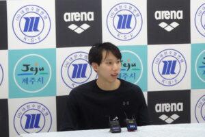 Cho Earns Korea's First Sub-Minute 100 Breast; Hwang Sunwoo Hits 48.38 100 Free