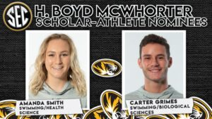 Grimes, Smith Nominated For SEC's McWhorter Scholarship By Missouri