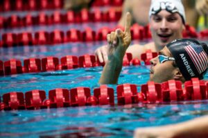 Michael Andrew Blasts Through 51-Second Barrier In 100 Fly, Lowers PSS Record