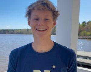 Junior 7.5K Open Water Champion Jacob Pishko Verbals to Navy Class of 2026