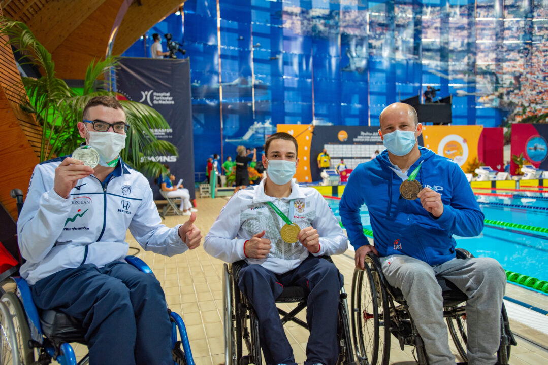Roman Zhdanov Cracks the Men's 150IM World Record at Para Euros Day 3