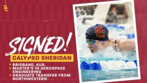 All-American Calypso Sheridan Follows Kipp to USC as Grad Transfer (2021-22)