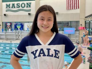 1:00/2:15 Breaststroker Jessey Li Makes Verbal Commitment to Yale (2022)