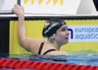 Benedetta Pilato WORLD RECORD women's 50 m breast 2021 European Championship Budapest Andrea Staccioli/Deepbluemedia/Inside
