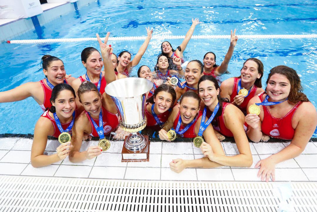 Olympiacos Triumphs Over Dunaujvaros To Win LEN Euro League Crown