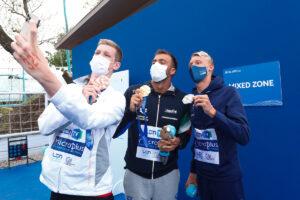 Europameisterschaften: Bronze für Florian Wellbrock über 10 km