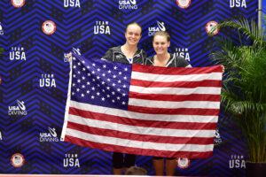 Former Longhorn Alison Gibson Nabs U.S. Olympic Team Spot in Women's 3m Synchro