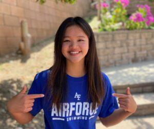 U.S. Air Force Academy Snags Verbal from Backstroker Kai-min Tsuei