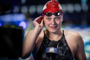 """Autumn Haebig on 100 Back Win: """"I wasn't expecting to really do that well"""""""
