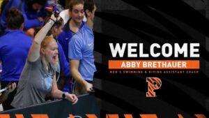 Princeton Adds Abby Brethauer Men's Swim & Dive Staff