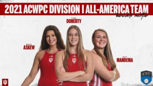 Three Hoosiers Earn Honorable-Mention ACWPC All-America Honors