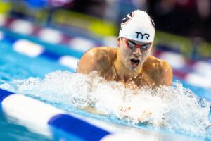Nic Fink Hits 58.50 100 Breast: #2 All-Time American, 5th Worldwide This Season