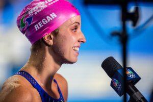 Regan Smith Breaks 100 Back U.S. Open Record at 57.92 During Trials Semifinals
