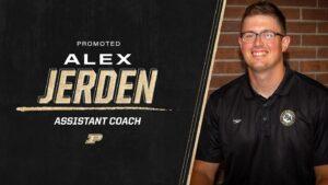 Purdue Elevates Alex Jerden to Lead Assistant Coach for Men's Swim Team