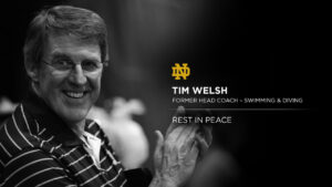 Tim Welsh, Head Swim Coach at Notre Dame for 30 Years, Dies at 76