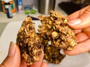 The Hungry Swimmer: Healthy Breakfast Cookies