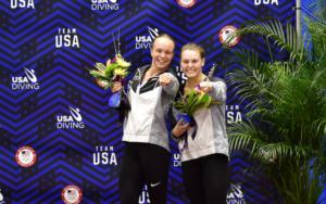 Palmer & Gibson Earn U.S. Olympic Spot in Women's 3-Meter Synchronized Diving