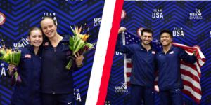 U.S. Diving Trials: Palmer, Hernandez, Loschiavo & Windle are Tokyo-Bound