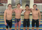 Aquajets Break 13-14 Boys 400 Free Relay NAG with 3:36.01 at MN Senior State
