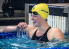 Ingrid Wilm Lowers Canadian Record in 100 Backstroke for 3rd Time in Naples