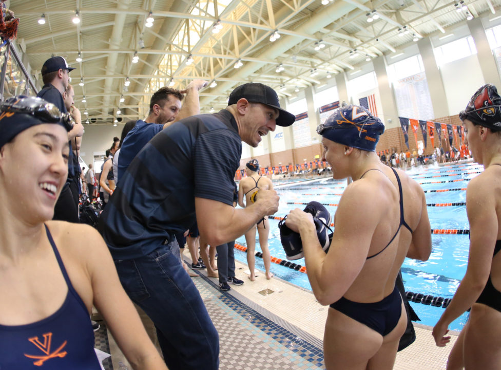 Douglass Scorches 2:06.98 200 Breast in UVA Win Over NC State