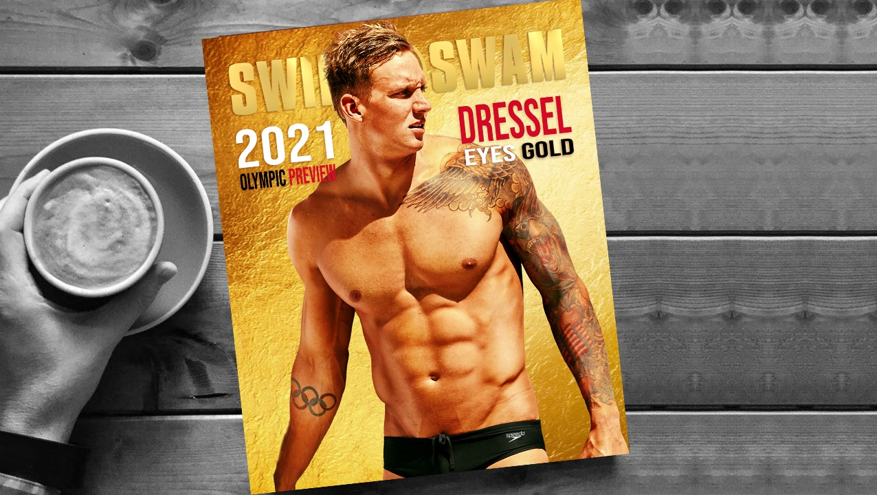 How to Get The Caeleb Dressel Olympic Preview Gold Cover Magazine