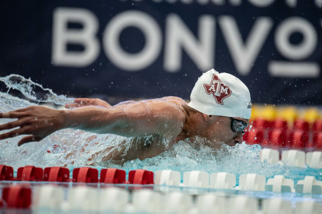 The SEC's Top 50 Freestyler Won't Swim That Race at SEC Championships (PSYCHS)